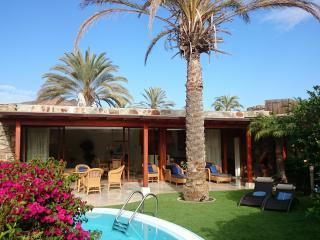 villa de luxe avec piscine dans beau village