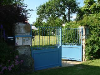 #Le Boucharel garden entrance.