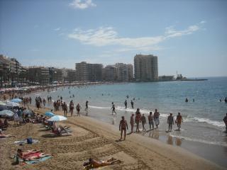 Apartamento para 3-5 personas a 60 m de la playa, Alicante