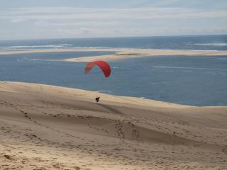 dune Biscarrosse moderne T3 terrasse vue mer