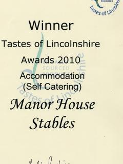 Award-winning accommodation!