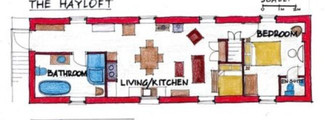 Floor plan of the Hayloft
