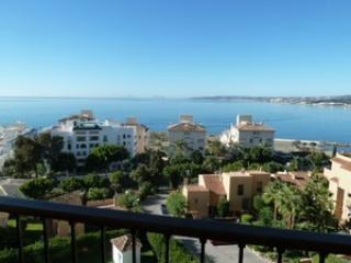 Stunning view from one bed apartment in Estepona