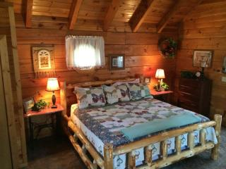 Gatlinburg Honeymoon Log Cabin. Taking reservations. Cabin has no damage.