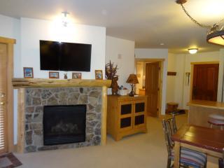 fireplace, smart tv