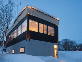 Snow Monkey House, center of Niseko, Niseko-cho