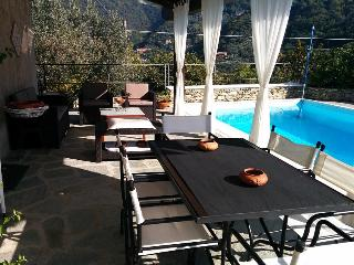 Vacation villa with pool near Recco Liguria Italy