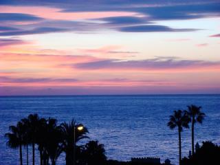 Beautiful sunrise from the terrace