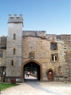 Taunton Castle/Museum Entrance