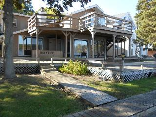 #4 Chippewa Lake Apartment W/ Dock for your boat.