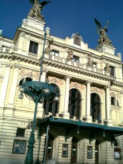 Vinohrady Theatre, 200m far from the apartment