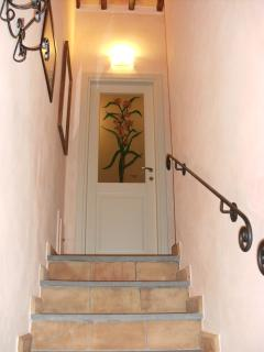 Red House -. Staircase to the upper floor