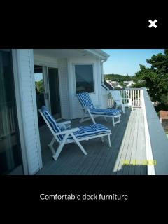 comfortable deck seating