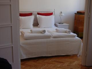 Cental topfloor apartment 50m from Danube river AC, Budapest