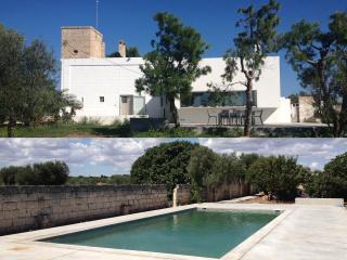 'MASSERIA' dell'architetto con piscina, Serranova