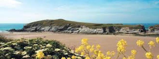 Porth Strand und Porth Island- 5 Minuten zu Fuß entfernt!