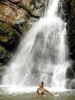 Waterfalls at Yunque Rain Forrest