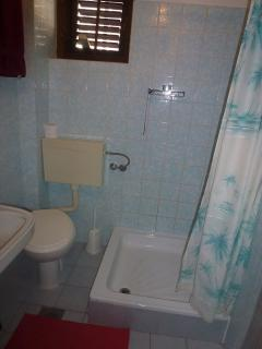 R1(2): bathroom with toilet