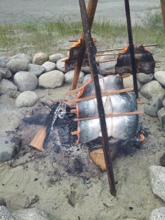 Smoking salmon the first nations way