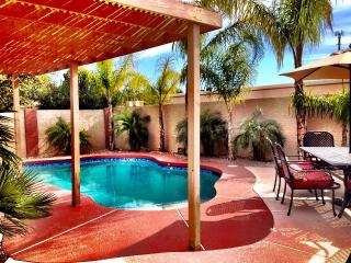 Pick me! Cozy, Senior-Friendly Single Level Phoenix Home with Heated Pool.