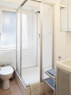 bath room (lavatory and 	shower)
