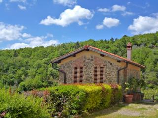 Hayloft house with pool, pvt terrace & view, Castelfranco di Sopra