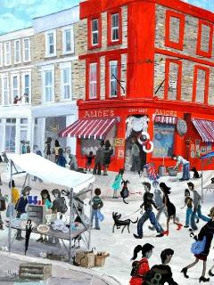 Close to Notting Hill's famous Portobello Road