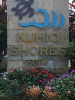 Kuhio Shores in Poipu/Koloa Kauai. Our unit is #103
