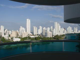 Spacious, breathtaking Views of Bocagrande, Beach, Cartagena