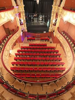 Le théâtre de Pézenas, un plaisir immense