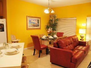 4 Bedroom, 3 Bathroom Townhome at Coral Cay Resort! Just 6 miles from Disney!