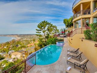 Mediterranean 6 Bedroom Home, Breathtaking Ocean Views w/ Pool & Spa