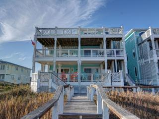 2 Views - Topsail Beach -Ocean Front & Sound views