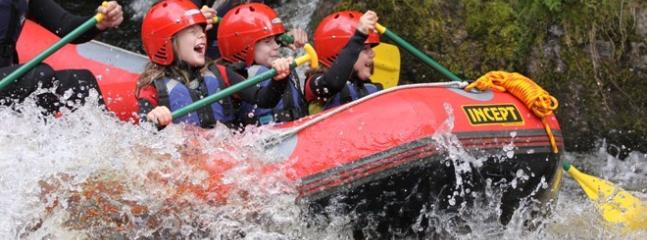 Snowdonia white water rafting