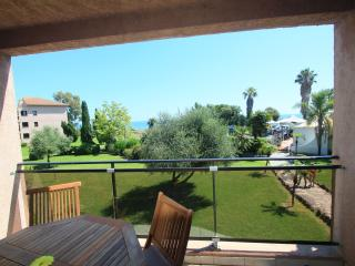 Appartement vue mer 4 pers.Wifi  climatisation, San-Nicolao