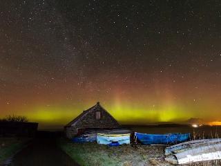 Northern Lights  21/01/15 taken by Gordon Mackie near Dunnet Head