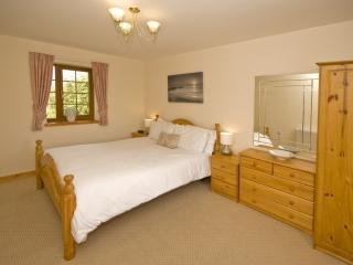 Main Bedroom of Crib Goch Cottage at Cerrig y Barcud Cottages