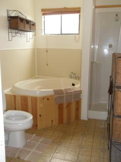Upstairs - Bathroom - with soaker tub and shower