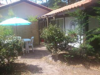Petite maison mitoyenne  35 m2 avec jardin, Hossegor