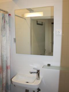 Heated bathroom