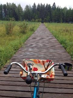Bike trails around Dover