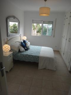 Huge master bedroom with ensuite - glorious views to the mountains.