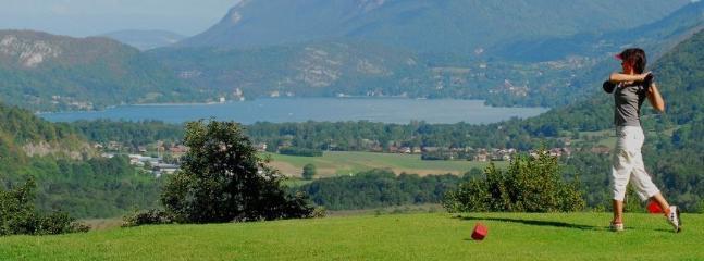 Golf in Giez. Giez is part of the Commune du Faverges