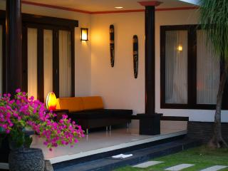 Family beachfront two bedroom villa, Gianyar