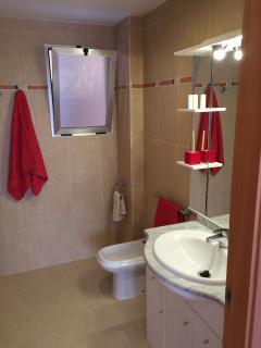 baño principal habitacion de matrimonio con bañera