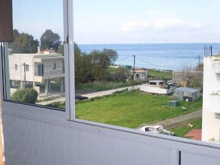 Sea view  apartment  50m from the beach.