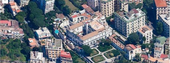 Casetta-belvedere from the sky