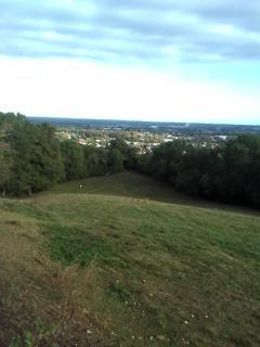 vue d'Aire sur Adour de la propriétée