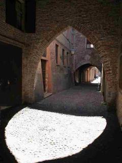 Ferrara typical nesieval road