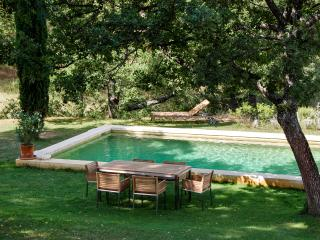 In the heart of Ansouis, immaculate and idyllic house with garden and pool